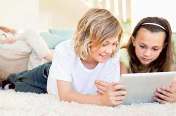 تبلت و کودک,مضرات  گوشی موبایل برای کودکان