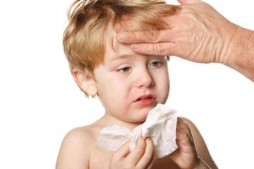 علت تب کودک، پایین آوردن تب کودک