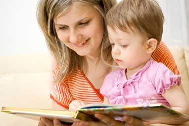 کتاب خواندن کودک, کتابهای کودکان