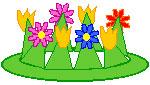 کاردستی کودکانه تاج گل,کاردستی