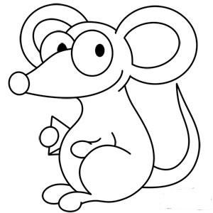 آموزش نقاشی موش,آموزش تصویری نقاشی موش