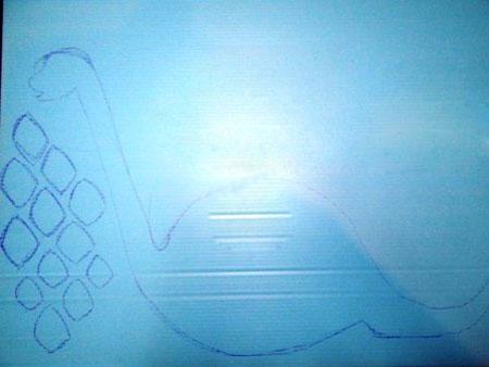 نقاشی دایناسور,طرز کشیدن نقاشی دایناسور