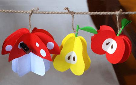 کاردستی میوه,طرز ساخت کاردستی میوه