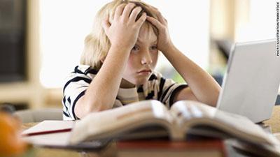 استرس در کودکان,علل استرس کودکان