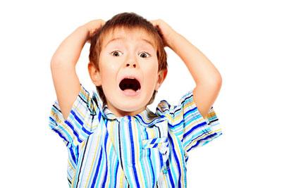 علت ترس در کودکان,اضطراب جدایی