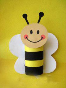 کاردستی ساخت خرس با پلاستیک کاردستی زنبور با کاغذ