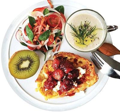 صبحانه کودک,تزیین صبحانه کودک