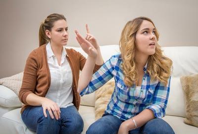 رفتار با نوجوانان پرخاشگر,رفتار با نوجوانان در سن یلوغ