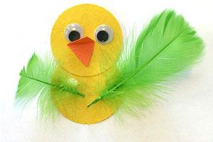 کاردستی،کاردستی لانه پرنده،ساخت کاردستی پرنده