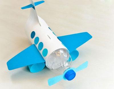 آموزش کاردستی هواپیما