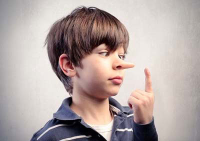 Image result for نحوه برخورد با کودک دروغگو