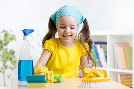 مسئولیت فرزندان در خانه