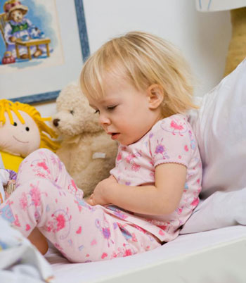 عفونت گوش در کودکان،علائم عفونت روده در کودکان