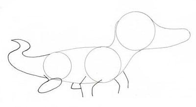 نقاشی تمساح,آموزش نقاشی تمساح