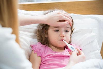 راه پایین آوردن تب کودک,ازبین بردن تب کودک
