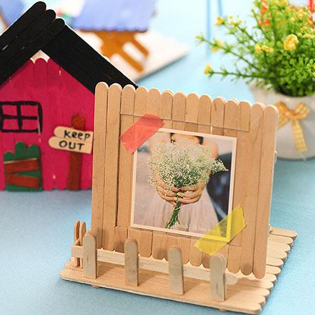 مدل کاردستی با چوب بستنی,ساخت کاردستی با چوب بستنی