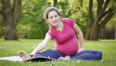 نحوه ورزش کردن خانم هاي باردار