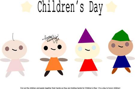 آموزش ساخت کاردستی روز کودک,کاردستی روز جهانی کودک