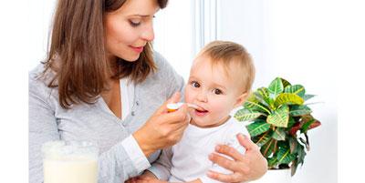 درمان کودکان با داروهاي خانگي