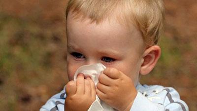 گرفتگی بینی در نوزادان