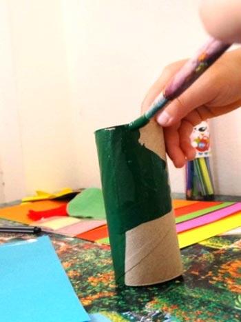 کاردستی هشت پا با کاغذ