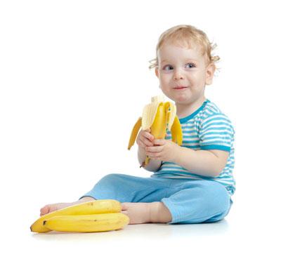 مصرف موز براي کودک