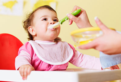 غذای کمکی نوزادان|غذای کمکی شیرخوار