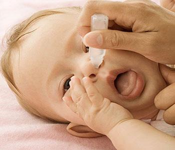 دلیل گرفتگی بینی,تمیز کردن بینی نوزاد
