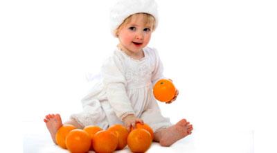پرتقال براي کودک
