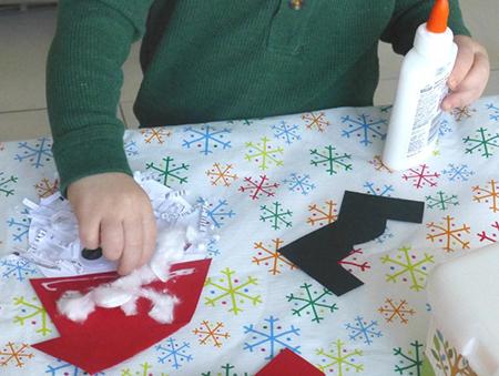 طرز درست کردن بابانوئل