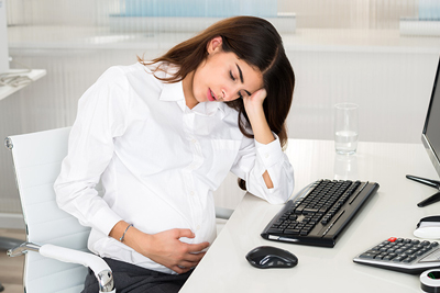 تنگي نفس در زنان باردار علت و درمان