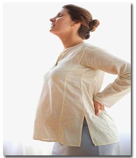 تسکین کمر درد دوران بارداری