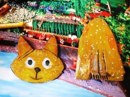 ba4340 5 - چگونه یک کاردستی گربه بسازیم؟