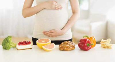 تغذیه مادر در هفته بیست و پنجم بارداری