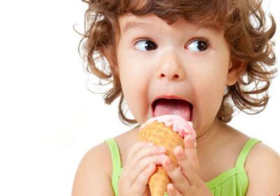 فایده بستنی برای کودکان