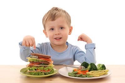 کمبود وزن در کودکان