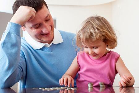 آموزش مهارت های مالی به بچه ها