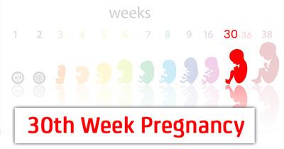 تغذیه در هفته سی ام بارداری