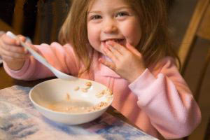 غذای کودک چهار ساله