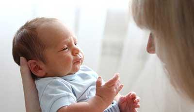 درمان سکسکه،سکسکه در نوزادان