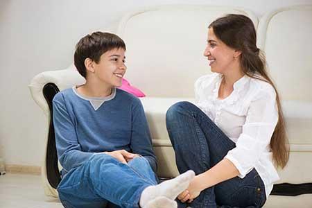 ارتباط مادر با دختر