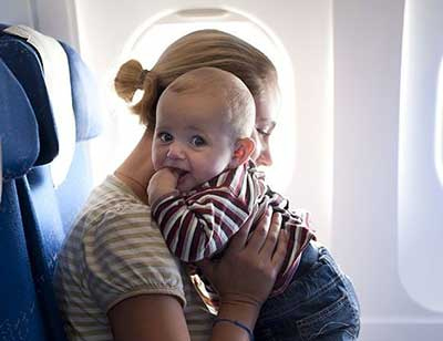 وسایل نوزاد در سفر