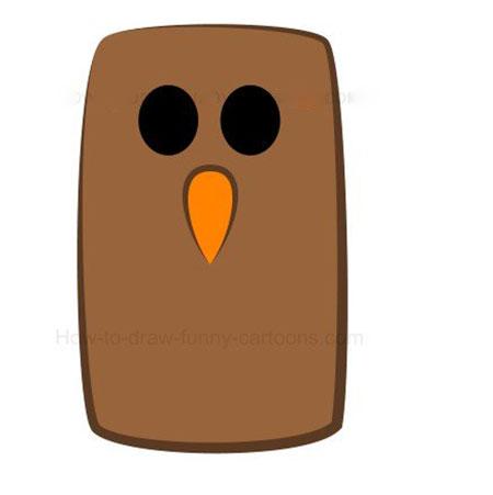 ba4591 3 - آموزش گام به گام نقاشی کارتونی خفاش