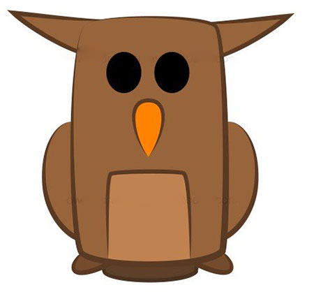 ba4591 6 - آموزش گام به گام نقاشی کارتونی خفاش