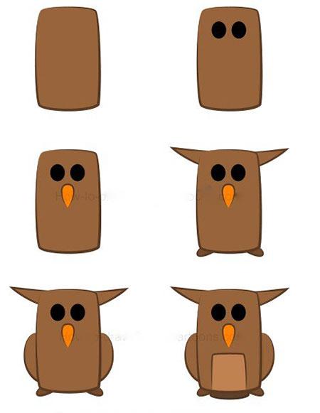 ba4591 7 - آموزش گام به گام نقاشی کارتونی خفاش