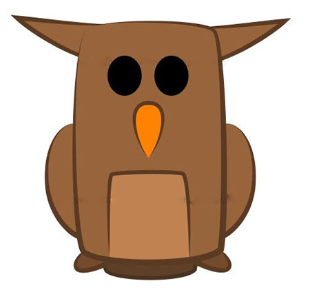ba4591 - آموزش گام به گام نقاشی کارتونی خفاش