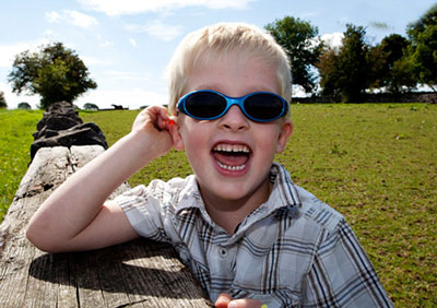 عینک آفتابی مناسب کودک،