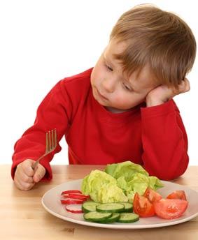 از تحميل سلیقه  در غذاي كودك پرهيز كنيد