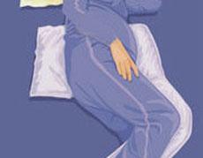 زنان باردار به پهلوی چپ بخوابند