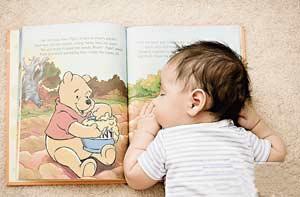 خواندن را به خردسالان آموزش دهیم